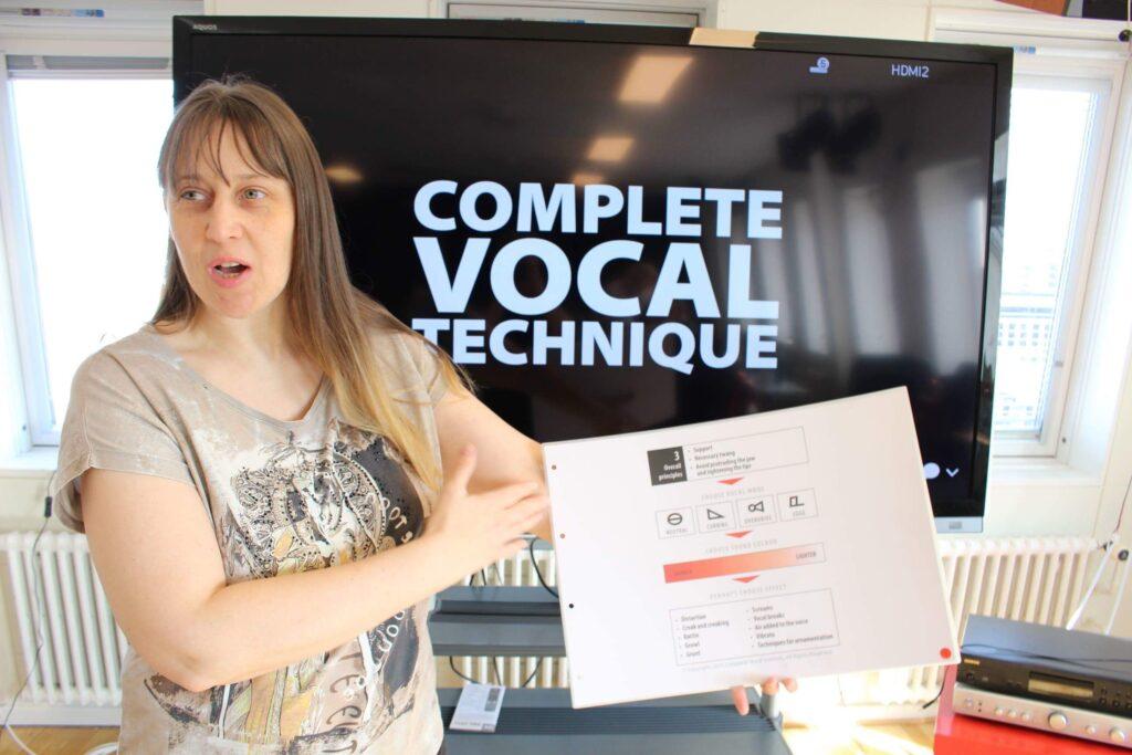 Margit Reiter unterrichtet CVT